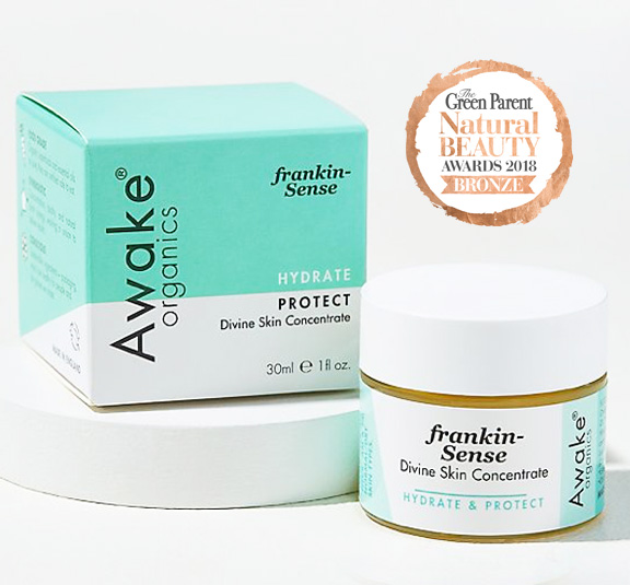 Frankin Sense Divine Face Care Hydrate and Protect Dry and Mature Skin all natural organic plantbased skin care by Awake organics main image