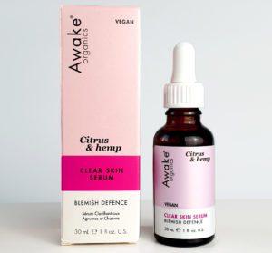 citrus & hemp clear skin serum with plastic free packaging option Main