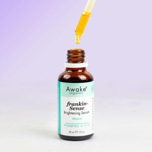 Frankincense | Brightening | Vegan Face Serum Awake Organics | Dropper Bottle Image