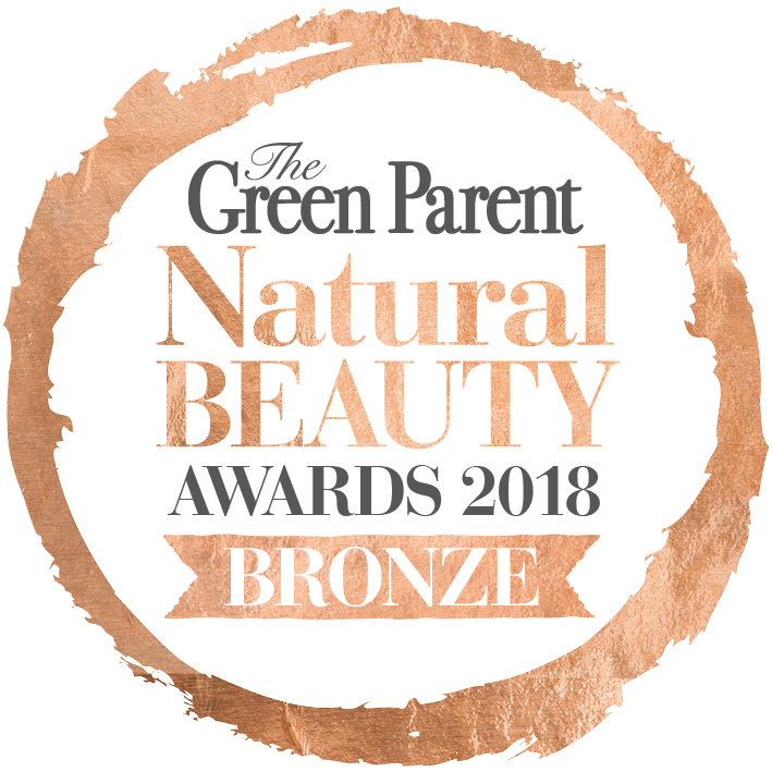 Green Parent Magazine 1018 Award Winner. Frankincense Face Cream. Awake Organics. Made in the UK.