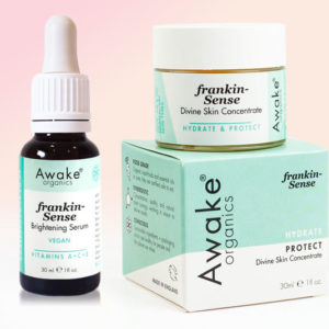 Frankin-Sense Divine Concentrate | Brightening Vitamin C Serum | Duo | Main Image | Frankincense