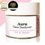 Aura Natural Clean Award Winning Deodorant | Aluminium Free | Main Image