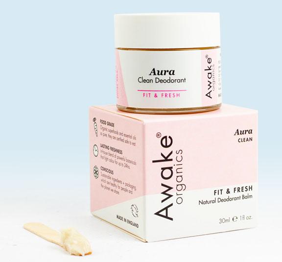 Aura Natural Clean Award Winning Deodorant | Aluminium Free | Organic | Main Image