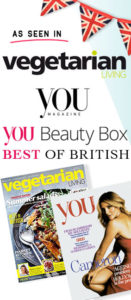 As Seen in You Magazine & Vegetarian Living Magazine. You Beauty Box. Best of British. Aura Clean Deodorant. Natural Deodorant That Works. Organic. By Awake Organics. Press. New. YouMagSocial. Daily Mail Online. Sunday Mail.