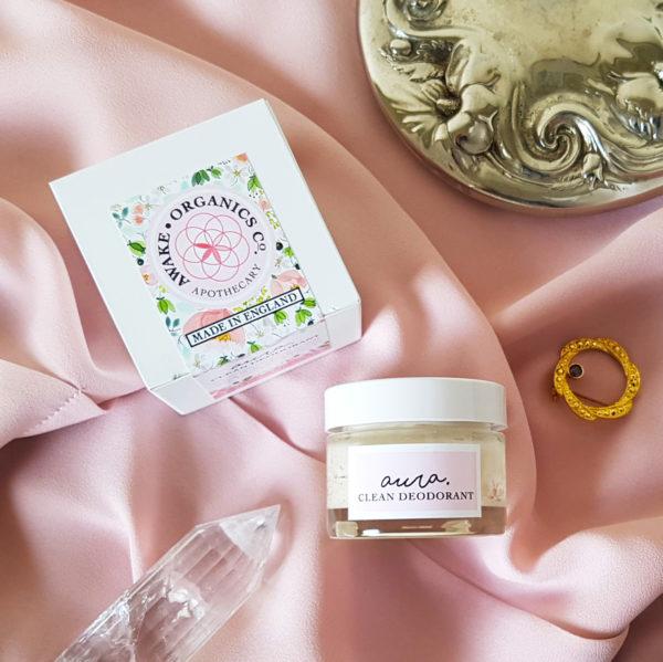 Aura Clean Deodorant by Awake Organics. Natural Deodorant UK, Natural Deodorant for Women.