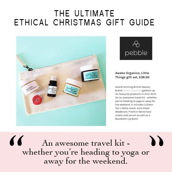 As Seen in Balance Magazine, Psychologies Magazine, You Magazine. Vegetarian Living, Daily Mail, Pebble Magazine, You Beauty Box. Best of British. Aura Clean Deodorant. Natural Deodorant That Works. Organic. By Awake Organics. Press. New. YouMagSocial. Daily Mail Online. Sunday Mail, Red Online, The Green Parent. Winner 2017 Natural Beauty Awards. Veggie Magazine Recommends Frankin-cense Divine Face Care. Winter skin saviour. Frankin-Sense Rejuvenating Organic Face Cream and Organic Face Serum. Anti-ageing, for younger looking Skin. Pure and natural. Made with Frankincense, Cannabis (Hemp), Seabuckthorn, Rosehip, Camellia Tea, Carrot Seed. Consciously Made in England. Dry skin. Mature skin. Winter skin. Ethical gift ideas. Christmas Gift Ideas. Gifts For Her. Gift Ideas.