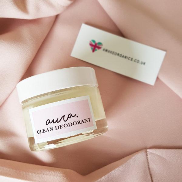 Award-Winning, Organic Aura Clean Deodorant. Natural Deodorant That Works. Organic. By Awake Organics.