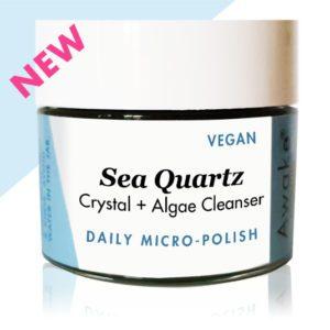 Sea Quartz Crystal Algae Cleanser | Vegan | Awake Organics | Main Image