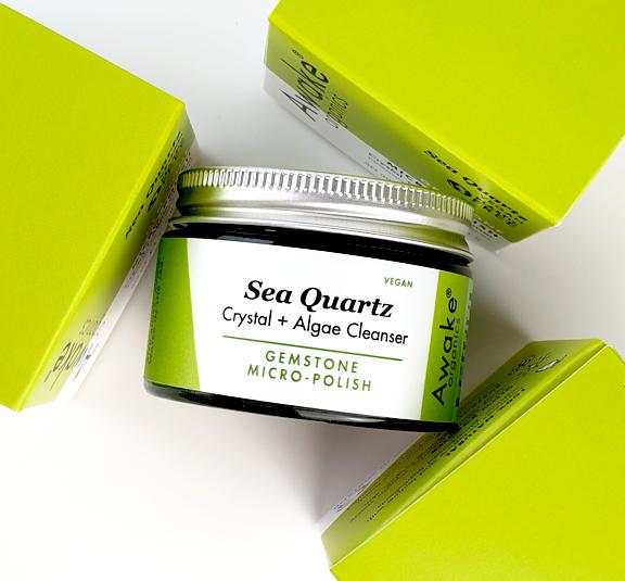 plastic free Sea-Quartz-Natural-Vegan-Cleanser-crystal-exfoliating-scrub-awake-organics-recyclable