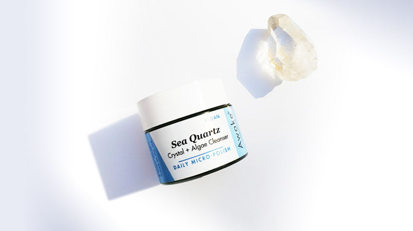 Product Launch | Sea Quartz | a Vegan Crystal Cleanser | Awake Organics | Main Image