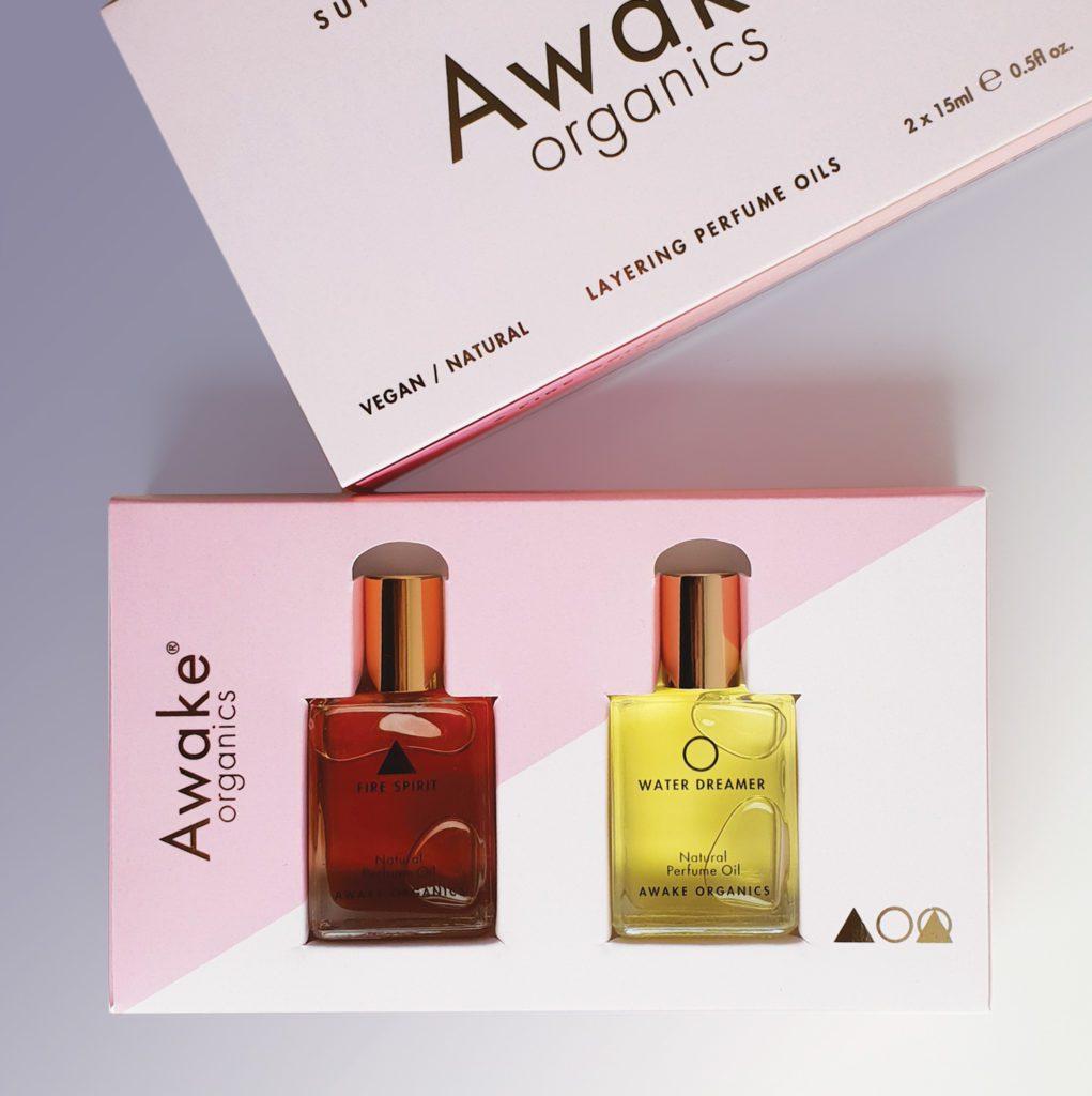 Natural Perfume Oils | Vegan | Supernatural Infusions | Awake Organics | Packaging