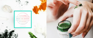 Sea Quartz | crystal gemstone | vegan| natural | organic exfoliating scrub cleanser | by awake organics | UK indie beauty brand | best in show awards | IBE Indie Beauty Expo London | 2018