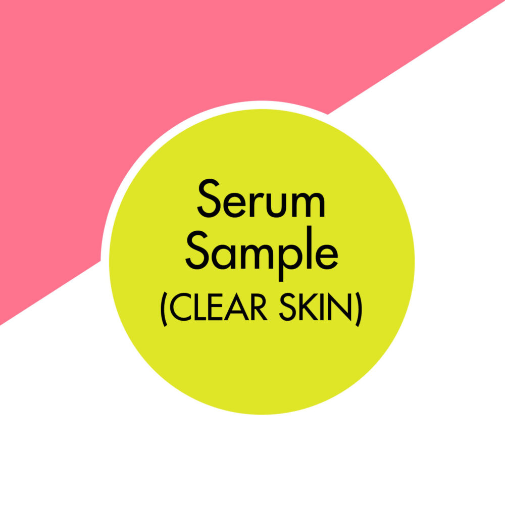 citrus | hemp | natural vegan face serum | UK | cruelty free | paraben free | blemish prone | oil skin | adult acne | awake organics | natural skin care brand UK | sample image