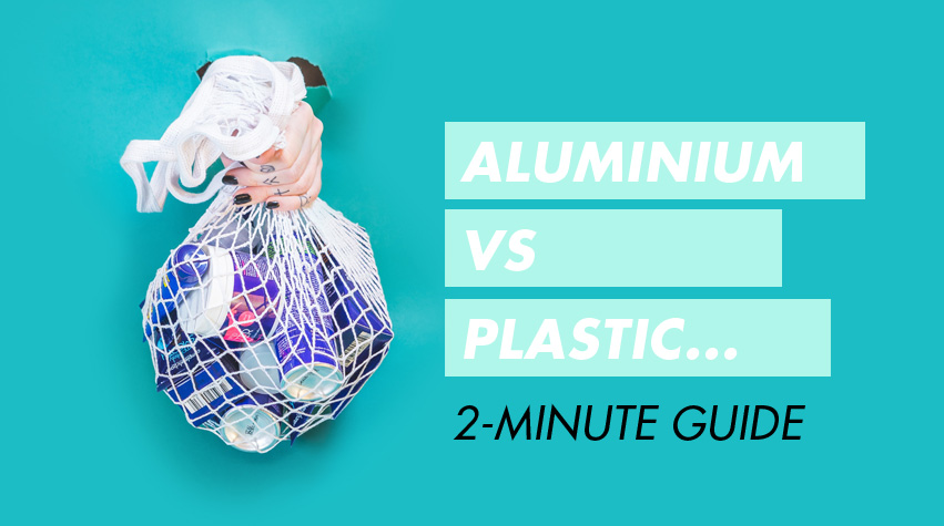 Is Aluminium Better Than Plastic? Zero Waste Beauty | Awake Organics