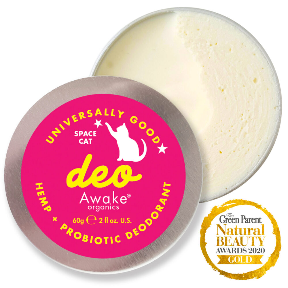 Natural Deodorant | Plastic Free | Probiotic | Aluminium Free | zero waste UK | vegan | Space Cat | Detox