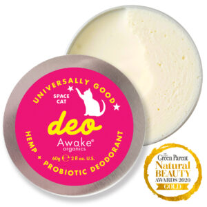 Natural Deodorant | Plastic Free | Probiotic | Aluminium Free | zero waste UK | vegan | Space Cat | Detox