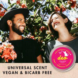 Natural Deodorant | Plastic Free | Probiotic | Aluminium Free | zero waste UK | vegan | Space Cat | Unisex