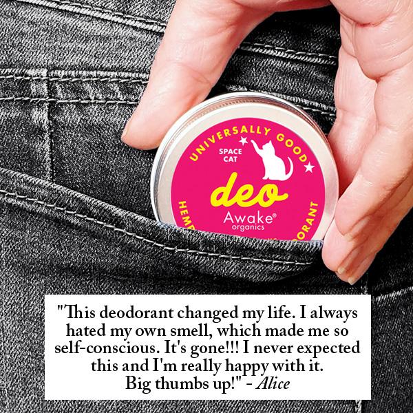 Natural Plastic Free Deodorant | Probiotic | Aluminium Free | zero waste UK | vegan | Space Cat | Product Image 3