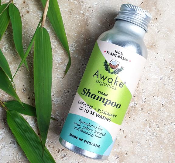 Plastic Free Shampoo for a Zero Waste Bathroom by Awake Organics