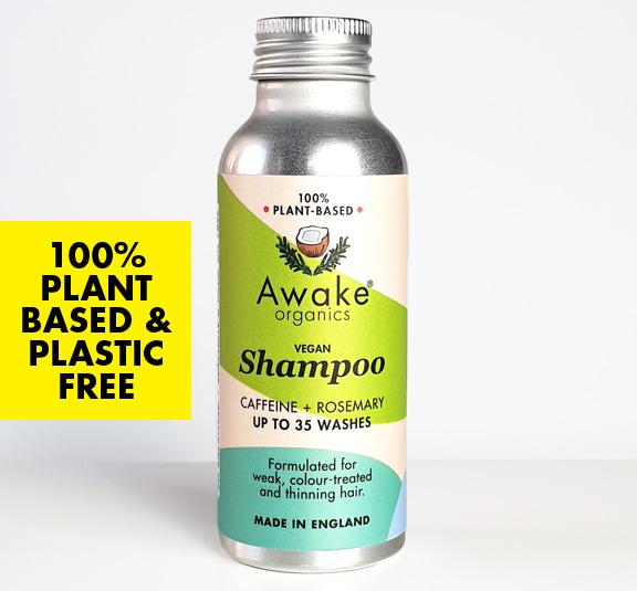 Plastic Free Shampoo by Awake Organics