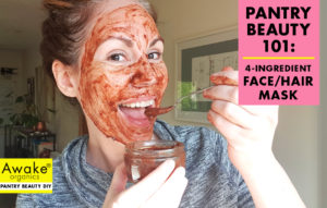 DIY natural Face and Hair mask recipe | by awake organics