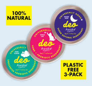 Plastic Free | Shop Deodorant UK | Natural Deodorant | Assorted Range | Awake Organics