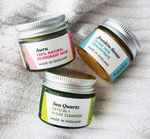 Deluxe Mini Natural SkinCare | Travel | Sample | Gift | by | Awake Organics