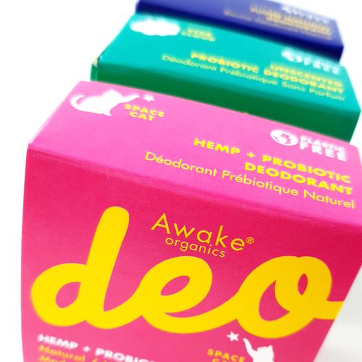 Natural Deodorant Balm | Made in England | Plastic Free | Bicarb Free | Vegan | Awake Organics